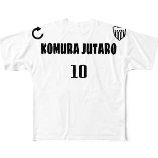 小村寿太郎 Full graphic T-shirts
