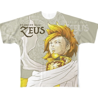 T.O.G ZEUS Full graphic T-shirts