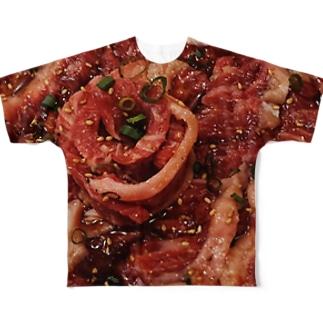 にく Full graphic T-shirts
