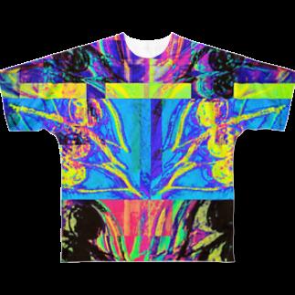 Oxygen8の👁🗨👁🗨👁🗨👁🗨👁🗨👁🗨 Full graphic T-shirts
