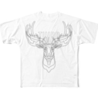 Horn Full graphic T-shirts