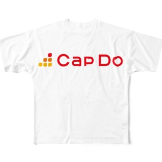 CapDoオリジナルグッズ Full graphic T-shirts