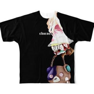 致死量の糖分 Full graphic T-shirts