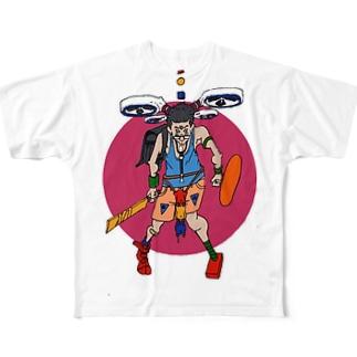 チャンバラボーイ Full graphic T-shirts