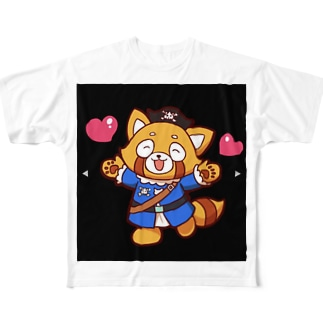 momotakaizokudanのもも太 Full graphic T-shirts