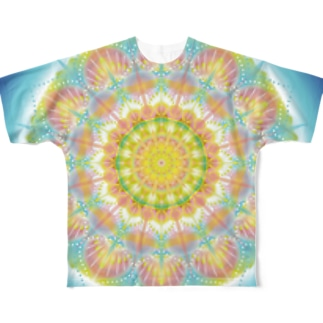 jeryy fish mandara Full graphic T-shirts