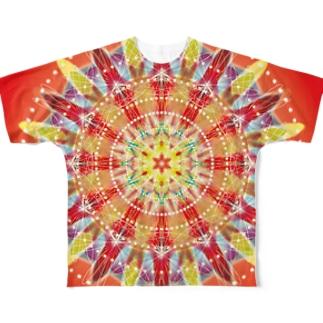 nagisa mandara Full graphic T-shirts