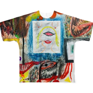 Chaos_Graffiti Full graphic T-shirts