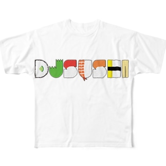SUSHI SHOP 墨田店のDJ SUSHI TOKYO 公式グッズ Full graphic T-shirts