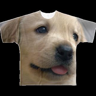 dohshinのラブラドール・レトリバーの子犬 Full graphic T-shirts