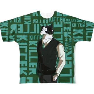 KILLERDOG Full graphic T-shirts