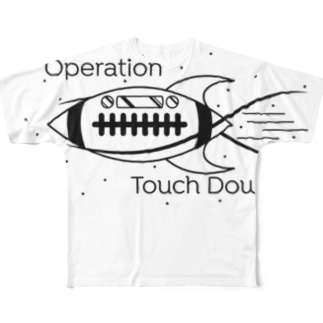 operation touchdown B Full graphic T-shirts