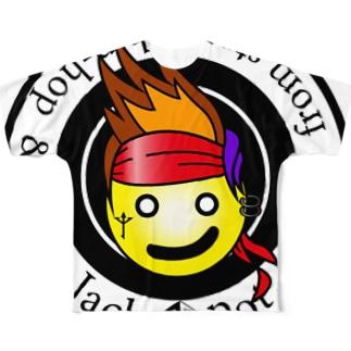 ジャックポット「Jack pot」 Full graphic T-shirts