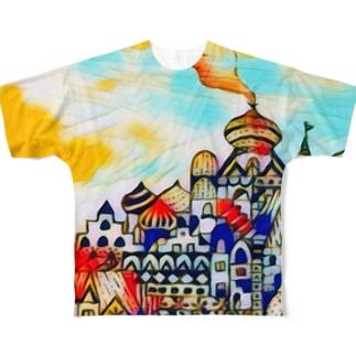 アラビアンランド☆ Full graphic T-shirts
