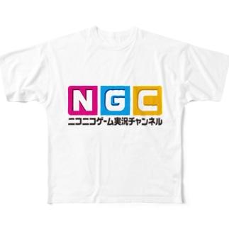 NGC『オフィシャルロゴ』(Ver.1.1) Full graphic T-shirts