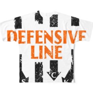 DL-SACK HARD Full graphic T-shirts