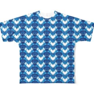 monogram Full graphic T-shirts
