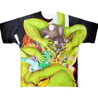 夢抱 Full graphic T-shirts