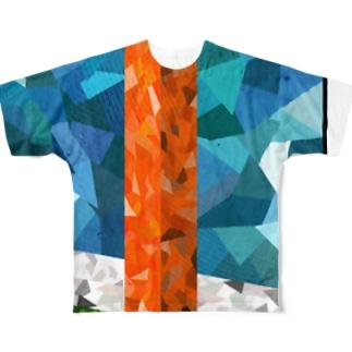 ENDZONE-PYLON Full graphic T-shirts