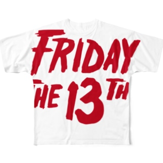 FRIDAY THE 13TH Full graphic T-shirts