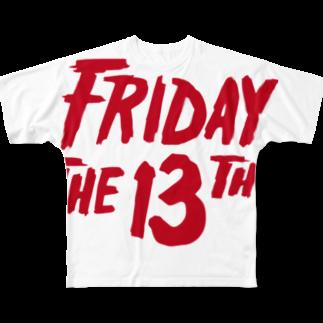 NIPPON DESIGNのFRIDAY THE 13TH Full graphic T-shirts