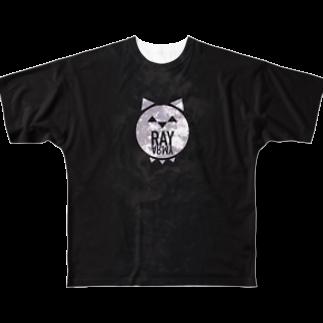 RAY_17仮面ライバーのray army008 みどり Full graphic T-shirts