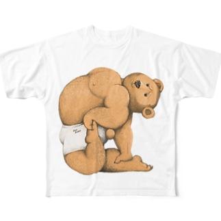 ヨガベア Full graphic T-shirts