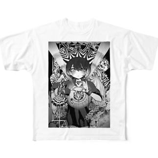 淵【北千住千洋OfficialGoods】 Full graphic T-shirts