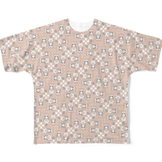 チチチチベットスナギツネネネネ Full graphic T-shirts