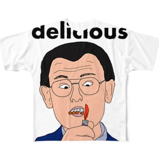 デリシャス! Full graphic T-shirts