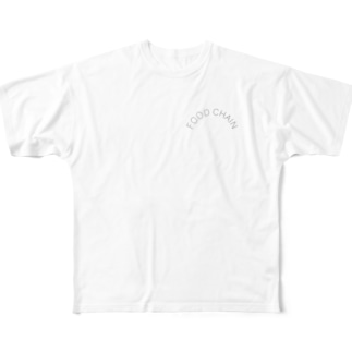 FOOD CHAIN Full graphic T-shirts