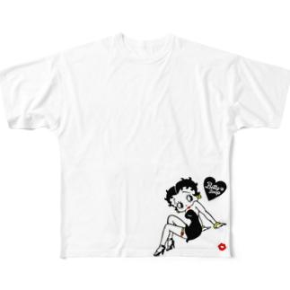 ベティちゃん Full graphic T-shirts