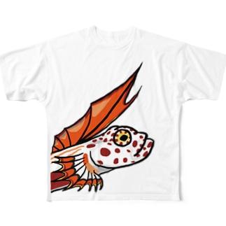 ほむらはぜ Full graphic T-shirts