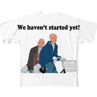 おじいちゃんだってふたりのり Full Graphic T-Shirt