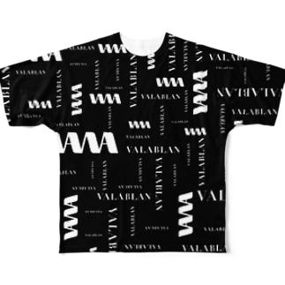 VALABLAN cross T-shirt Full graphic T-shirts