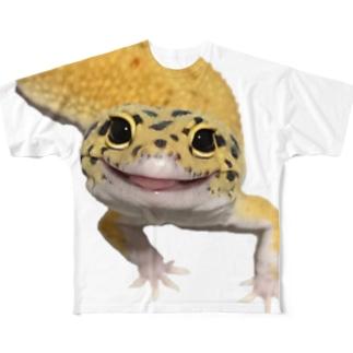 はれぞらのレオパ・スーパーハイタンエクリプス Full graphic T-shirts