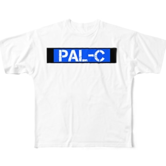 PAL-C Tシャツ Full graphic T-shirts