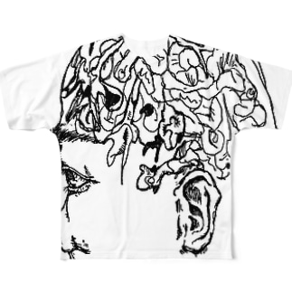 think what we are Full graphic T-shirts