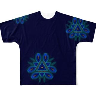 注意散漫の人の02 Full graphic T-shirts
