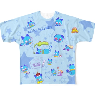 BeLrassフルグラフィック両面 Full graphic T-shirts