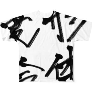変形合体! Full graphic T-shirts