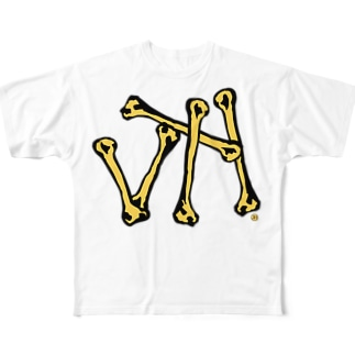 JH/骨 Full graphic T-shirts