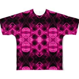 Spices Invader pink Full graphic T-shirts