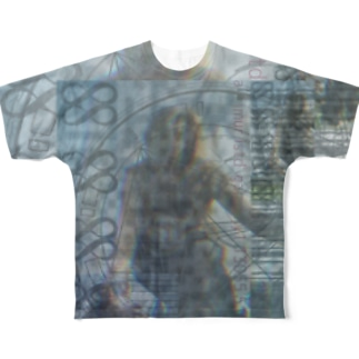 aimuristのD'gaia dance  Full graphic T-shirts