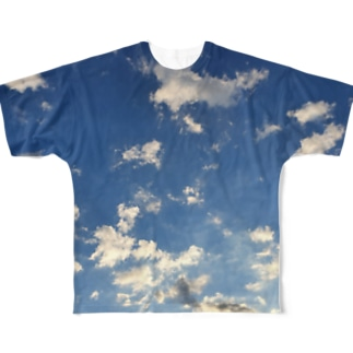 Blue Top Full graphic T-shirts