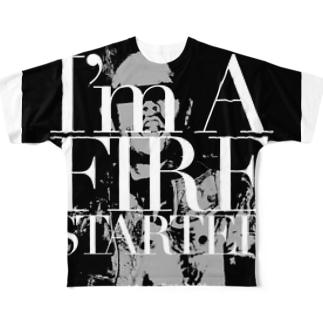 Firestarter Full graphic T-shirts