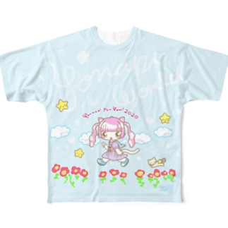 ようなぴにゅーいやー!2020 Full graphic T-shirts