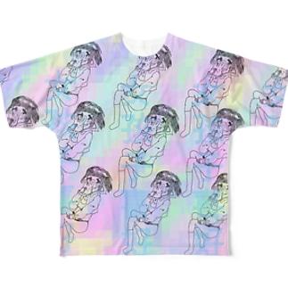 女孩子喜好 Full graphic T-shirts