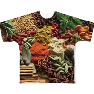 Spice of life Full graphic T-shirts