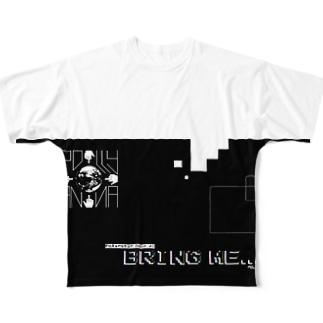 KYOKUSEI Full graphic T-shirts
